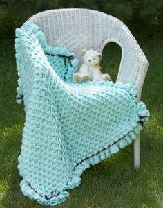 Crocodile Crochet Blanket