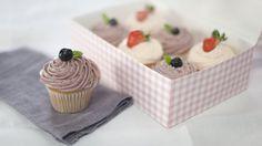 Strawberry cupcakes - RTÉ Lifestyle