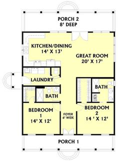 Plan No.432921 House Plans by WestHomePlanners.com