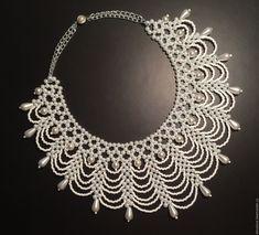 Bead Jewellery, Jewelry Making Beads, Pearl Jewelry, Beaded Jewelry, Diy Jewelry, Jewelry Design, Beaded Necklace Patterns, Jewelry Patterns, Beading Patterns