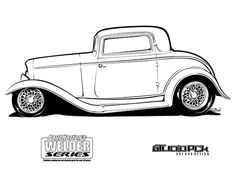Hot Rod Coloring Pages | TEXTURES FOR DRAWING/PAINTING/QUILTING ...