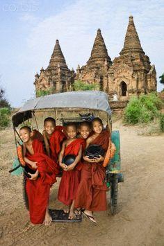 Bagan, Myanmar. Just spent a few days here- similar to Cambodia's Angkor Watt. Beautiful.