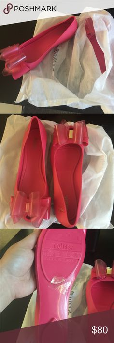 Melissa flats New with box, never worn. Melissa Shoes Flats & Loafers
