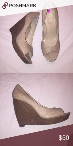 Jessica Simpson wedges Size 8.5 Shoes Heels