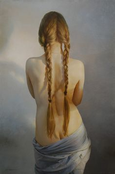 Stunning work from Marshennikov. Love the way he's caught the light and rendered the shadows on her back. 155. 2010 30x20'