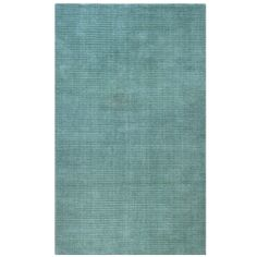 Hand-tufted Blue Wool Rug (8' x 10') | Overstock.com Shopping - Great Deals on St Croix Trading 7x9 - 10x14 Rugs