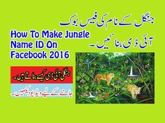 How To Make Jungli Name ID On Facebook 2017 Urdu/Hindi Tutorial
