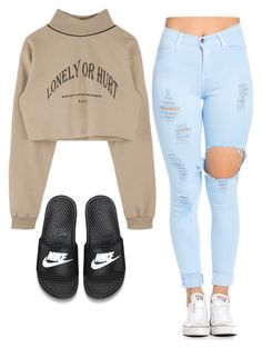 """Untitled #76"" by brianabeckette on Polyvore featuring NIKE"