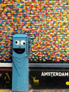 10 Things to do in Amsterdam - PointsandTravel.com  Check out Spuistraat Street. This street in central Amsterdam is full of cool street art and graffiti. Bring your camera because some of it is definitely photo-worthy!