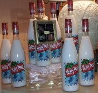 Holly Nog! A must for your Christmas celebration. Made with Real Wisconsin Cream.