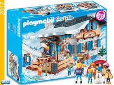 PLAYMOBIL 9280 Ski Hut