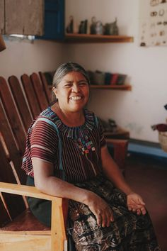 The Lake Atitlan, Guatemala studio where Grain's threads are naturally dyed. Photo: Kristen Marie Parker