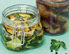 Zucchine grigliate sott'olio   Conserve di casa