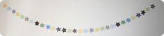 Et puis la neige elle est trop molle: Tutoriel Guirlande d'étoiles en papier