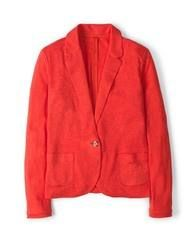 Linen Blazer (Raspberry) My favourite shade for summer