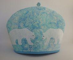 Polar bear tea cozy from http://www.etsy.com/shop/RedLeafStitchCraft?ref=seller_info