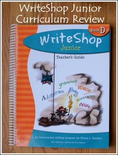 WriteShop Junior Curriculum Review • homeschool