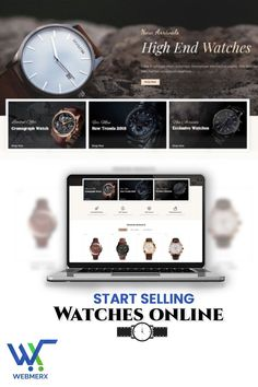 Interested in opening an online Watch store but clueless how to start with your online store? Get in touch with us and we will build a stunning onlinestore for you the way you want. That too at an affordable price. So, contact us now! High End Watches, Ecommerce Solutions, Online Watch Store, Clueless, Watches Online, New Trends, New Fashion
