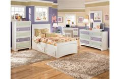 Youth Bedrooms   Madeline Youth Bedroom Bright Modern Kids Room Decorating  Ideas