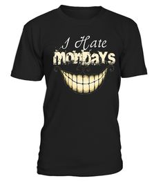 """# I Hate Mondays T shirt Limited Edition! .      -----I Hate MondaysT shirt Limited Edition!----Do You Love Fun? Then This Best Selling """"I Hate Mondays"""" Tee Or Hoodies is perfect for you!!!Special Offer, not available anywhere else!Available in a variety of styles and colorsBuy yours now before it is too late!Secured payment via Visa / Mastercard / Amex / PayPal / iDealHow to place an order Choose the model from the drop-down menu Click on """"Buy it now"""" Choose the size and the…"""