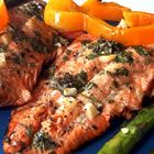 Marinated Wild Salmon....one day I will get the rest of my family enjoying seafood like I do