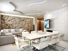 salón y comedor modernos