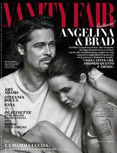 Brad And Angie, Brad Pitt And Angelina Jolie, Jolie Pitt, Peter Lindbergh, Estilo Jackie Kennedy, Le Couple Parfait, Vanity Fair Italia, Vanity Fair Magazine, Photo Star