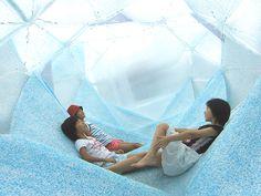 aquascape-folding-structure// Ryumei Fujiki of  F.A.D.S + fujiki studio and KOU::ARC