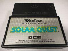 Solar Quest (Vectrex, 1982)