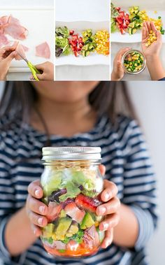 Salad in a Jar | 21 Fun And Delicious Recipes You Can Make With Your Kids