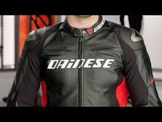 Dainese Racing D1 Leather Jacket Review at RevZilla.com - YouTube