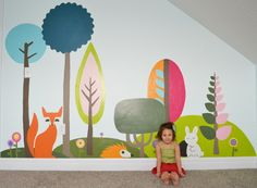gorgeous 40 Luxury Wall Art Design Ideas For Your Kids Room To Have Kids Wall Murals, Murals For Kids, Kids Wall Decor, Mural Wall Art, Art For Kids, Painted Wall Murals, Room Wall Painting, Room Paint, Wall Art Designs