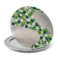 Luxury compact mirror ACS-08.6 - Design Glassware by Mont Bleu
