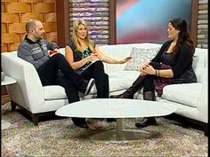 The Mellyboo Project television interview on RogersTV's daytime.  #tvinterview #interview #travel #volunteering #blogging