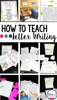 I love teaching letter writing in the classroom. Students love writing friendly letters to each other. I've got 6 ideas for making teaching letter writing easier for you including sample anchor charts, picture book ideas and extension activities. 2nd Grade Writing, Kindergarten Writing, Teaching Writing, Teaching Ideas, Academic Writing, Essay Writing, Letter Writing For Kids, Letters For Kids, Writing Letters