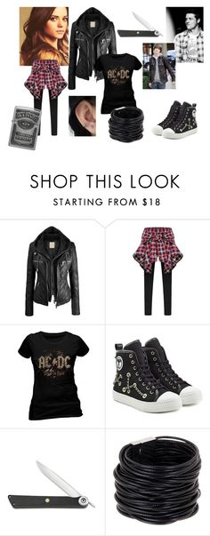 """""""Bailey Singer [age 15]"""" by mollymay2398 ❤ liked on Polyvore featuring Moschino, Shun, Saachi and Zippo"""