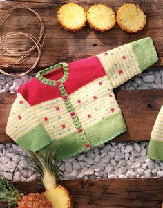 pattern knit crochet baby jacket spring summer katia 6726 24 g Crochet Baby Cardigan, Baby Cardigan Knitting Pattern, Baby Boy Knitting, Knit Baby Sweaters, Knitting For Kids, Hand Knitting, Knit Crochet, Knitted Baby, Baby Knitting Patterns