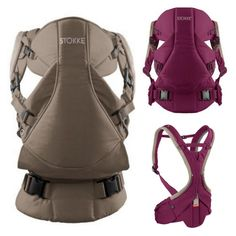 PURPLE!! Stokke MyCarrier #ColorfulFall #PinParty