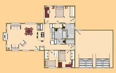 Small House Grand Three Ton Floor Plan View More House Grand Tiny