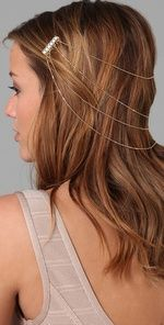 Belle Noel - Honey Hexagon Hair Comb (don't think this would show up in my hair)   : (