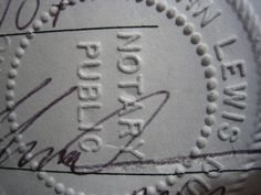 Become a notary public