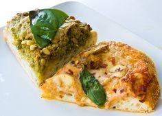 Vegan Pizza Recipes! Beachy Green Pesto. Marinara.