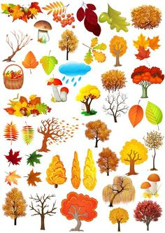 Autumn Crafts, Autumn Art, Preschool Decor, Watercolor Paintings For Beginners, Art Drawings For Kids, Autumn Aesthetic, Halloween Drawings, Autumn Activities, Whimsical Art
