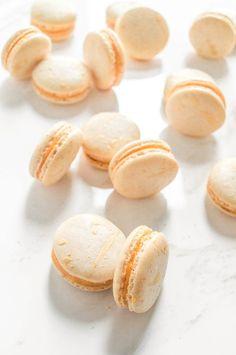 Pumpkin Ganache Macarons
