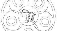 Aprender  las vocales Super mandalas de letras para colorear Smurfs, Logo, Fictional Characters, Art, Free Coloring, Note Cards, Notebooks, Mandalas, Art Background