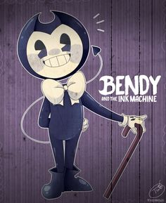Omg he looks so Adroble Bendy And The Ink Machine, Boris The Wolf, Bendy Y Boris, Alice Angel, Just Ink, A Cartoon, Anime, Foto E Video, Game Art