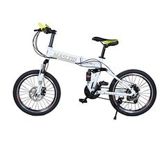MASLEID Bike Mountain Bike Folding Bike White ** Be sure to check out this awesome product-affiliate link.