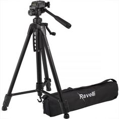 Ravelli Lightweight Aluminum Tripod, Includes Carry Bag and Universal Smartphone Mount Best Electric Scooter, Best Scooter, Lomo Camera, Mini Camera, Camera Test, Best Dslr, Best Camera, Photography Camera, Photography Tips