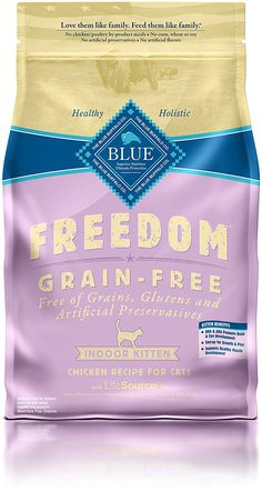 Blue Buffalo Freedom Grain Free Dry Kitten Food * Trust me, this is great! Click the image. (This is an amazon affiliate link. I may earn commission from it)