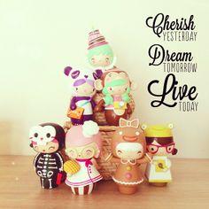 Momiji dolls!